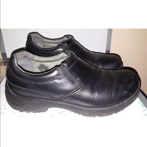 Dansko MenLeather Slip Resistant  Work Shoe 43 9M